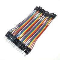 20 cm 40 Pin Ayrılabilen Dişi-Dişi Jumper Kablo