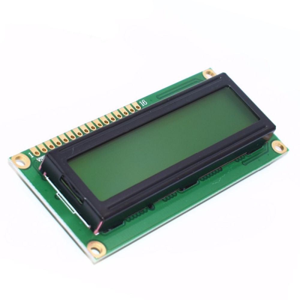 2X16 Karakter LCD Display Yeşil